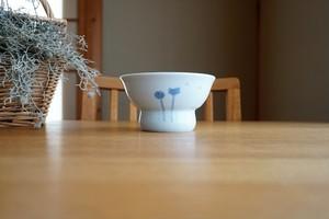 砥部焼/くらわんか茶碗(大)/たんぽぽ/陶房風