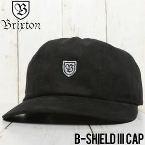 BRIXTON ブリクストン B-SHIELD III CAP ストラップバックキャップ 00983 BKGRY