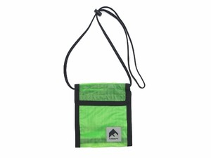 NYLON PASS CASE GREEN 18AW-FS-61