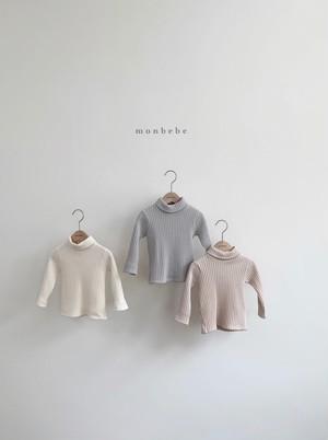 monbebe / リブポーラトップス