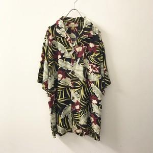 CONSENSUS オープンカラーシャツ マルチカラー size L メンズ 古着