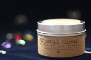 Crystal Clear〔クリスタル・クリア〕 アロハエリクサーキャンドル(メッセージカード付)