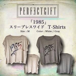 「1985」T-Shirts [スリーブレスワイド]