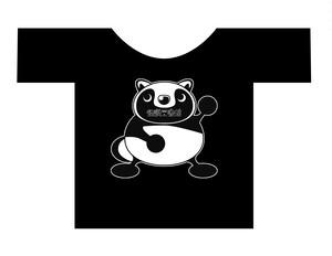 怖いTシャツ001 タヌT(サイズLのみ)