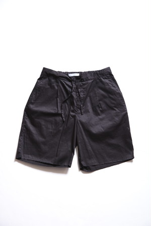 CC 1TUCK EASY SHORTS-BLACK