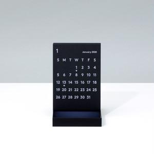 'CLARA' Desk Calendar 2020 Black
