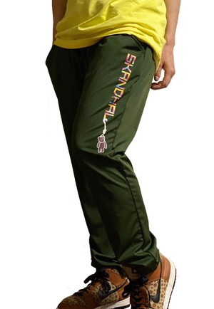【SKANDHAL】LOGO パンツ【ミリタリー】【再入荷】イタリアンウェア【送料無料】《M&W》