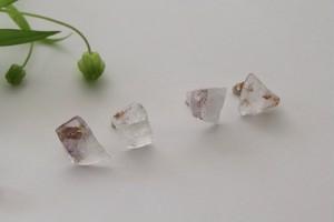 Existence -Elestial quartz- / Pierced