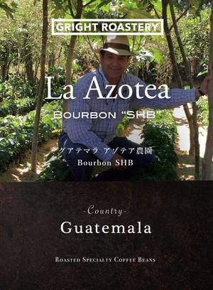 オーダー焙煎 300g「グアテマラ アゾテア農園 アンティグア ブルボン」 珈琲豆