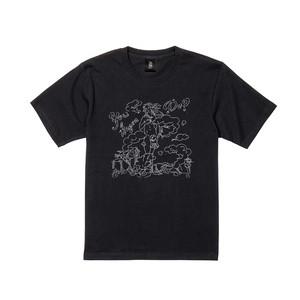 hot spring 半袖 黒