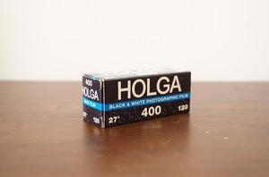 【モノクロネガフィルム 120 ブローニー】Holga(ホルガ)HOLGA400