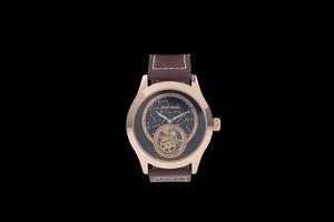 【JOHNNY ROGER Himmel gold 】フライングトゥ-ルビヨン メンズ パワーリザーブ 手巻き腕時計