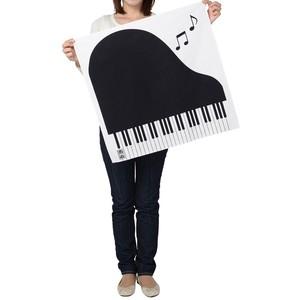 ピアノ柄ミニ風呂敷