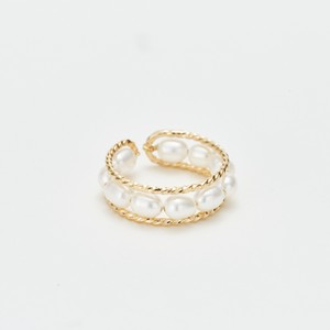 Drop Pearl Ring