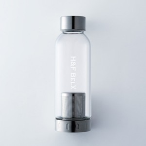 ガラスタンブラー(S 380ml)-茶こし付き水筒-