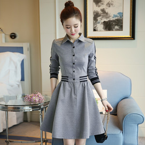 【dress】 New style waist slimming dating dress