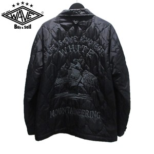 WHITE MOUNTAINEERIG 17SS QUILTED SOUVENIR JACKET