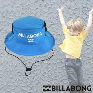 ビラボンキッズハット UVサーフハット 人気ブランド 水遊び用 子供用帽子 おすすめ 男の子 ギフト 通販 青 ブルー プレゼント BILLABONG AG015-900