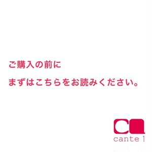 cante1のシステムついて