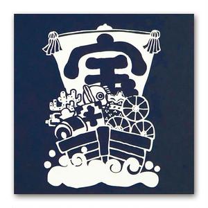 シイング ぽち(角) 宝船