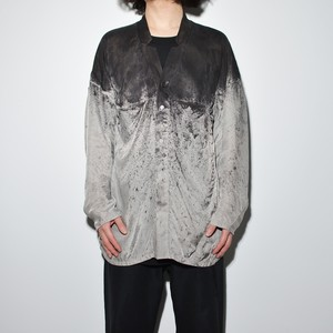 All Matching - Shirt Jacket〈 Monochrome Mixture 〉