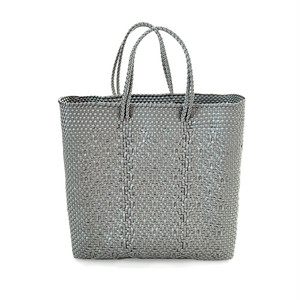 MERCADO BAG ROMBO - Silver(M)