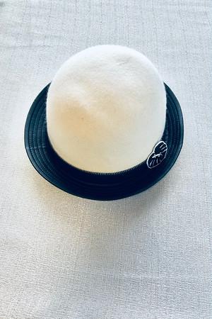 ツートンカラーハット [Two-tone color hat]