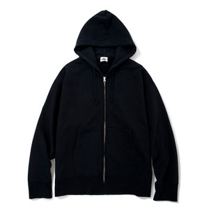 "Just Right ""TD Full-Zip Hoodie"" Navy"