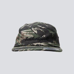 BASIC LOGO JETCAP TIGER CAMO【 BLACK 】