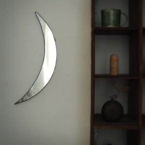 ウォールミラー大  はじまりの月/ 雪ガラス