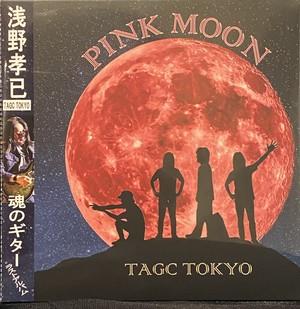 TAGC TOKYO CD  PINK MOON 追悼オビ付再販