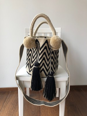 【Pre-order】ワユーバッグ (Wayuu bag) Basic line 2way Mサイズ
