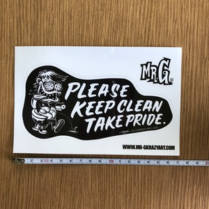 TOILET STICKER (小)
