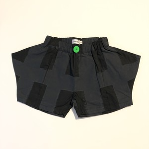 【21SS】フランキーグロウ ( frankygrow )ORIG CHECK RHOMBOS SHORT PANT[ LL ]black-black ショートパンツ