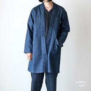 JK-13  伊達羽織  新デニム インディゴ