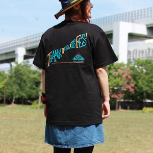 TGIF!Tシャツ「THANK GOD, IT'S FES!」(BK)