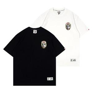 【GRAF】パンダ&竹林プリントTシャツ