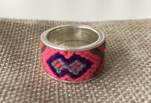 Lulo Accessories (ルロ アクセサリーズ) Wayuu ring no.3