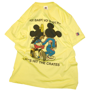 "予約Item! ""Let's Hit The Cretes"" Tee Light Yellow -Limited-"