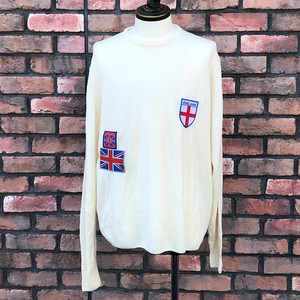 Fred Perry Crew Neck Jumper Made in England Large