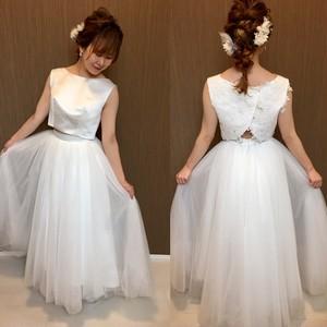 ノンスリーブセパレートドレス