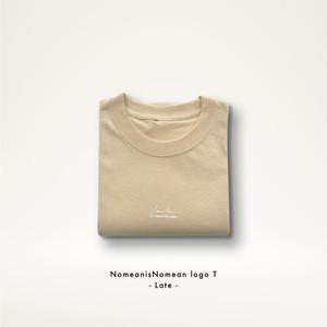 NomeanisNomean Logo Tshirt Late