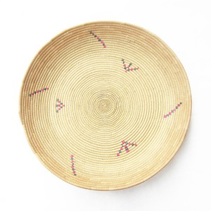 フラニ族の平かご 柄2 / Fulani Basket Pattern 2