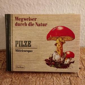 ドイツ ヴィンテージ図鑑 きのこ Pilze 1 (C)