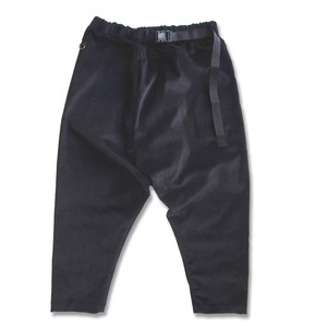 WCH Twisted Sarrouel Pants Corduroy -Black