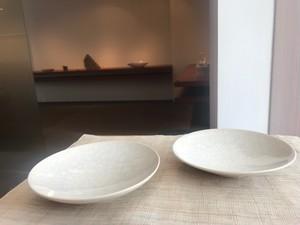 今泉 毅(いまいずみ たけし) 白瓷小皿
