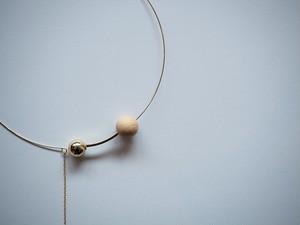 WOOD*METAL choker necklace