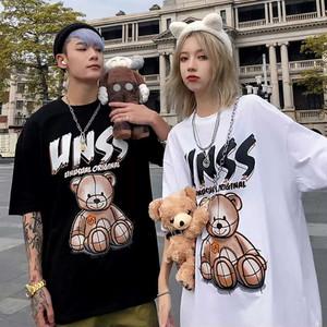 【トップス】男女問わず格好よいプリントキュートTシャツ27856508