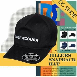 ADYHA03854 ディーシー キャップ 帽子 メンズ キャップ スナップバック 人気ブランド 通販 旅行 入学 プレゼント ハイキング 黒 紺 TILLERS DC SHOES