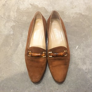 【 SALE 】GUCCI bamboo bit  Loafer